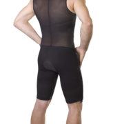 ClearPoint Medical Men's Black Sleeveless Compression Bodysuit 2