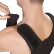 ClearPoint Medical Men's Black Sleeveless Compression Bodysuit 4