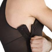 ClearPoint Medical Men's Black Sleeveless Compression Bodysuit 5