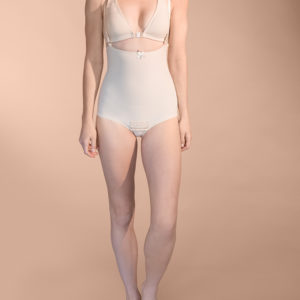 Marena No Leg Girdle with Suspenders (FBA)
